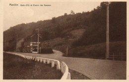 Marchin Gatte D'or Et Chemin Des Gueuses Circulé En 1958 - Marchin