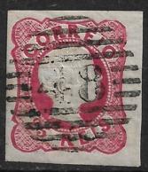 Angra – 1856 King Pedro V With 48 Numeric Cancel - Angra