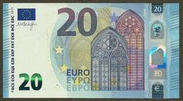 Portugal - 20 Euro - M005 H4- MC3597985674 - Draghi - UNC - EURO
