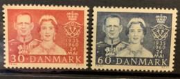 DENMARK - MNH** - 1960 - # 374/375 - Dänemark