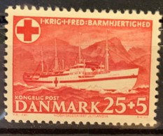 DENMARK - MH* - 1953 - # B21 - Dänemark