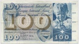 1967 1. Serie  (1. Januar 1967) - 50 Franken Note - Schweiz, Suisse, Svizzera - Wenig Gebraucht - Suiza