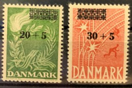 DENMARK - MH* - 1955 - # B22/23 - Dänemark