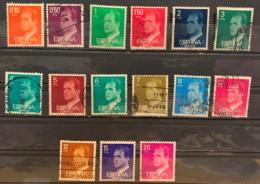 SPAIN  - (O)  - 1976-1977 - # LOT OF 15 VALUES - 1971-80 Usados