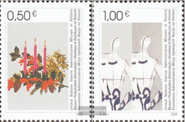 Kosovo 16-17 (complete Issue) Volume 2003 Completeett Unmounted Mint / Never Hinged 2003 Christmas And Year - Gebraucht