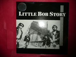 LP33 N°4372 - LITTLE BOB STORY - 130096 - DISQUE EPAIS 1987 - COMPLET AVEC POSTER - Rock