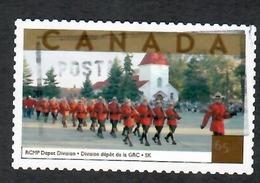 Sc. # 1989c Tourist Attractions RCMP Parade Sask. US Rate Single 2003 K616 - 1952-.... Règne D'Elizabeth II
