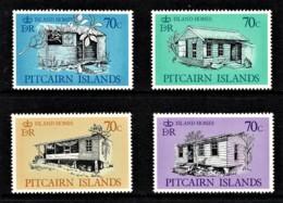 Pitcairn Islands 1987 Island Homes Set Of 4 MNH - Briefmarken
