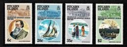 Pitcairn Islands 1986 Seventh-Day Adventist Church Set Of 4 MNH - Briefmarken