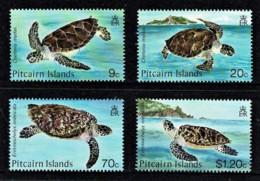 Pitcairn Islands 1986 Turtles Set Of 4 MNH - Briefmarken