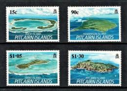 Pitcairn Islands 1987 Islands Set Of 4 MNH - Briefmarken