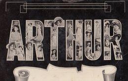 A Name Called Arthur Big Letters Actresses Postcard - Saluti Da.../ Gruss Aus...