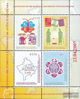 Kosovo Block5 (complete Issue) Unmounted Mint / Never Hinged 2007 Rights Handicapped People - Blocks & Kleinbögen