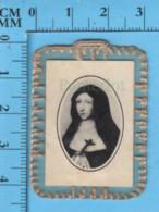 France - Relique à Porter 3 Eme Categorie - Bh. Catherine De St-Augustin- Tissu Ayant Touche Aux Ossement - Religion & Esotérisme