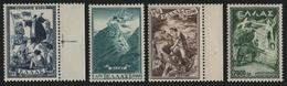 Griechenland 1950 - Mi-Nr. 588-591 ** - MNH - Aufständische (I) - Neufs