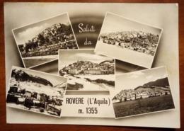 Rovere (L'Aquila) - Saluti Da Rovere, Vedute, Vedutine - 1968 - Viaggiata - Italy