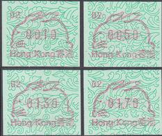 HONG KONG 1988 Chinese New Year Rabbit FRAMA SET:4 #2 - Hong Kong (...-1997)