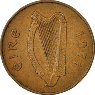 Monnaie, IRELAND REPUBLIC, 2 Pence, 1971, TB, Bronze, KM:21 - Ierland