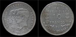 Belgium Albert I 10 Frank (2 Belga) 1930FR-pos B - 1909-1934: Albert I.