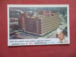 Chesterfield Cigarette Factory North Carolina > Durham      Ref 4085 - Durham
