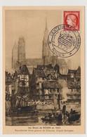 FRANCE - Carte Souvenir - 15F Cérès - Centenaire Du Timbre Poste - ROUEN - 24 Juin 1949 - 1940-49