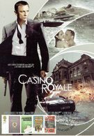 31A: CM,Carte Maximum Card, James Bond 007 Movie, Casino Royale Cinema, Maxi Card, MC - Cinema
