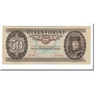 Billet, Hongrie, 50 Forint, 1980, 1980-09-30, KM:170d, TTB - Hungría