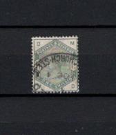 N° 85 TIMBRE GRANDE-BRETAGNE OBLITERE DE 1883     Cote : 300 € - 1840-1901 (Victoria)