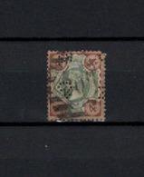 N° 97 TIMBRE GRANDE-BRETAGNE OBLITERE   DE 1887       Cote : 15 € - 1840-1901 (Victoria)