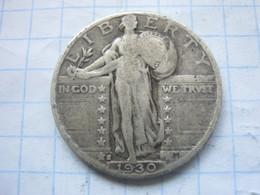 United States , Quarter Dollar 1930 S - Émissions Fédérales
