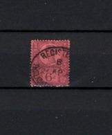 N° 100 TIMBRE GRANDE-BRETAGNE OBLITERE     DE 1887         Cote : 15 € - 1840-1901 (Victoria)