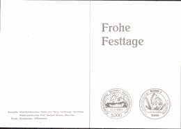 BRD FGR RFA - Weihnachten (MiNr: 1066) 1980 - Faltkarte - BRD