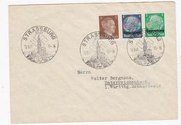 Besetzung Luxemburg Brief Mit SST - Bezetting 1938-45