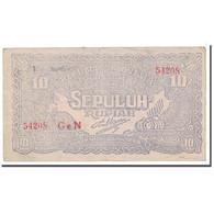 Billet, Indonésie, 10 Rupiah, 1948, 1948-01-01, KM:S190c, TTB - Indonesia