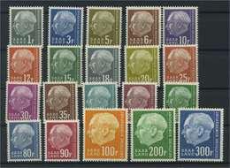 SAARLAND 1957 Nr 409-428 Postfrisch (116179) - Germania