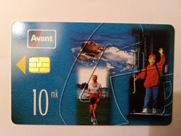 Finland Phonecard AVANT RAHAKORTTI AVR1a VIP - Finland
