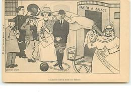 La Justice Met Sa Main Sur Samain - L. Demange-Gruet - Pangermania - Satirical