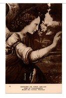 CPA - ANGE DE L'ANNONCIATION ( L. DE VINCI) - Malerei & Gemälde