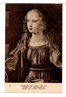 CPA - VIERGE DE L'ANNONCIATION ( L. DE VINCI) - Malerei & Gemälde