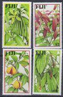 Fidji N° 953 / 56 XX Flore : Epices , Les 4 Valeurs Sans Charnière,  TB - Fiji (1970-...)