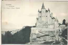 SEGOVIA ALCAZAR ESCRITA DORSO SIN DIVIDIR - Segovia