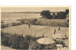 THEMES     SPORTS  TENNIS FORET DE FOUESNANT  PLAGE DE KERLEVEN  HOTEL DES SABLES   TENNIS JOUEURS EN ACTION  DEPT 29 - Tennis