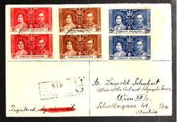 32371 - De ROAD  TOWN Pour L'Autriche - British Virgin Islands