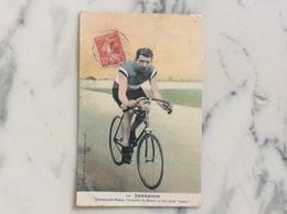 Darragon.Champion De France,Champion Du Monde Sur Bicyclette Labor. - Cycling