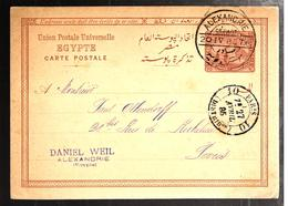 32380 - ALEXANDRIE DEPART - 1866-1914 Ägypten Khediva