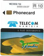 @+ Namibie - N$ 10 - Desert  (NAEI00032...) - Ref: NMB-07 - Namibië