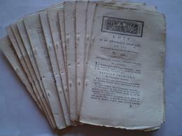 Gros Bulletin Des Lois 1795: Marine :inscription Maritime,administration Des Ports & Arsenaux,artillerie De La Marine... - Decrees & Laws