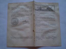 Lois An X:Justices De Paix De La Dyle,Nivelles,Louvain,Bruxelles... & Pyrénées Atlantiques,Oloron,Mauléon,Orthez,Bayonne - Decrees & Laws