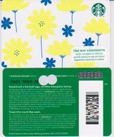 GIFT CARD - STARBUCKS - HUNGARY - HU-SB-022 - YELLOW FLOWERS - Gift Cards