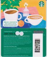 GIFT CARD - STARBUCKS - HUNGARY - HU-SB-023I - ORANGE WITH I - Gift Cards
